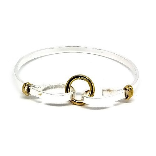 Classy and Stylish Silver Circle of Trust Bangle