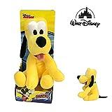 Dsney Famosa Softies - Plüsch Pluto, Micky Maus Maskottchen 25cm Soft Qualität Blister - Famosa 70004806