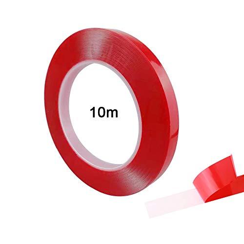 FULARR® 10M X 10MM Premium Transparente Acrílica