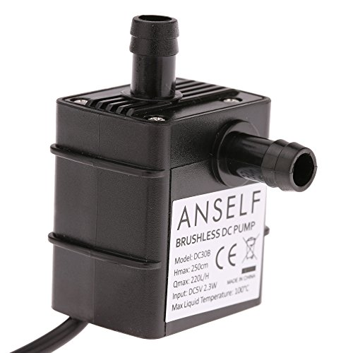 Anself Ultra-silenzioso Mini USB DC5V 2.3 w Brushless Micro Acqua Olio Pompa Impermeabile Sommergibile Fontana