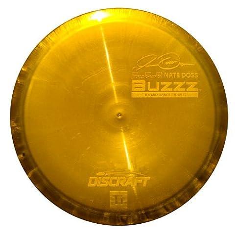 Discraft Titanium Golf Disc, Nate Doss Buzzz Mid-Range Driver, 170-174gm