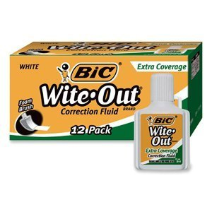 bicampreg-wite-out-extra-coverage-correction-fluid-20-ml-bottle-white-12-pack-sold-as-1-dozen-wedge-