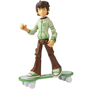 Ben 10 Omniverse 10cm Alien Collection Figure Hoody With Skateboard