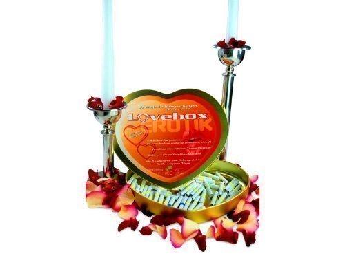 Erotische LOVE Box 52 - Die Herzkiste mit 52 Überraschungen