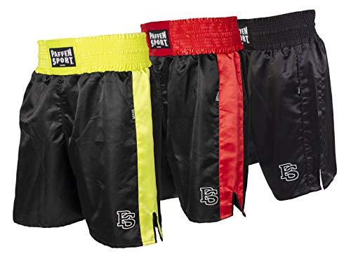 Paffen Sport Allround Boxerhose - schwarz/rot - Größe: S