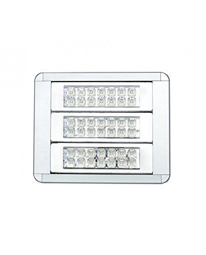 Led Hochflutlichtrojecteur – 120W – 376 mm X 309 mm X 95 mm – 60° Winkel – 12000lm – IP65 – 4000K, neutrales weisses Tageslicht – einstellbare Winkeleisen und 3m Kabel inkludiert