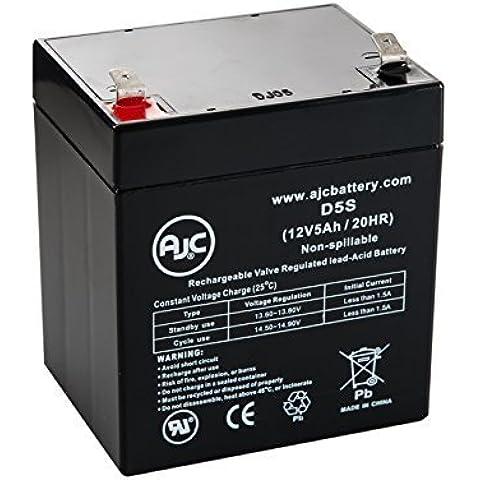 Batería de Scooters de 12V 5Ah Enduring CB4.5-12 - Es un recambio de la marca AJC®