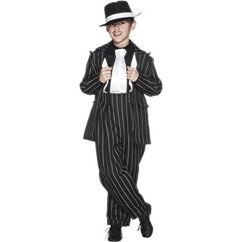 Smiffy's - Disfraz de mafioso para niño, talla M (7 - 9 años) (25600M)