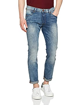 Wrangler Herren Larston Blue Mick Jeans