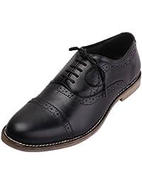 FBT Men's 12670 Leather Formal Brogue Shoes