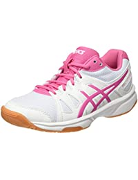 Asics Gel-Upcourt Gs, Zapatillas de Bádminton para Niñas