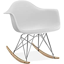 ibh design chaise sydney blanc - Chaise A Bascule Blanche