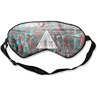 Eye Mask Eyeshade Abstract Triangle City Sleep Mask Blindfold Eyepatch Adjustable Head Strap preisvergleich bei billige-tabletten.eu