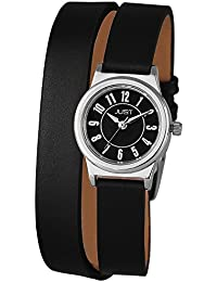 Just Watches Damen-Armbanduhr XS Analog Quarz Leder 48-S4062-BK