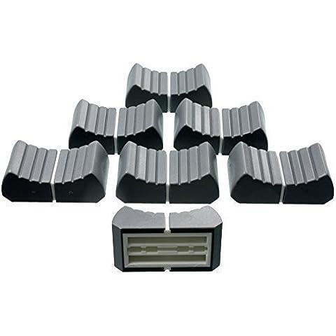 6 x botones Profesionales Botones de control desvanecedor gris T-
