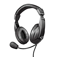 Trust Quasar Mikrofonlu Kulaklık, Siyah