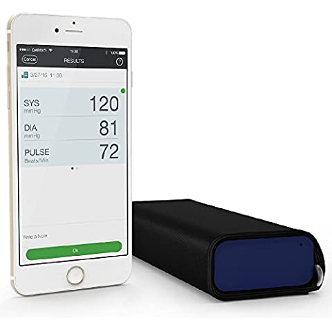 Qardio QardioArm - Monitor de presión sanguínea inalámbrico, color Azul Prusia