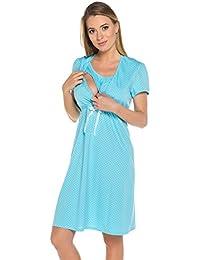 Italian Fashion Chemise de Nuit pour la Maternité Joy 0114
