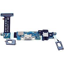 Flex conector de carga Micro USB para Samsung Galaxy S6 G920F Audio y microfono