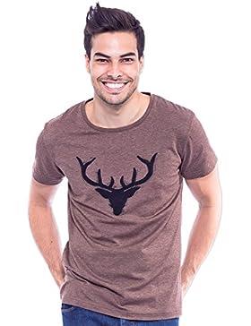 Krüger BUAM T-Shirt Wilder Hirsc