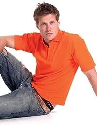 Classic Pique Polo Shirt Orange M