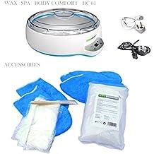 Calentador de cera Spa BODY COMFORT BC 01, calentamiento rápido, para uso profesional con