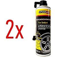 Sellador de juntas de neumáticos para coche de XADO, para la reparación de neumáticos,ayuda antipinchazos,AtomEx, juego de 2 unidades