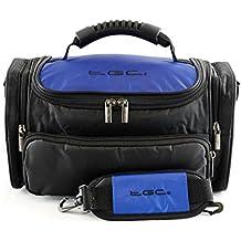 TGC ® Large Camera Case for Leica M Edition 60 Plus Accessories (Dreamy Blue & Black)