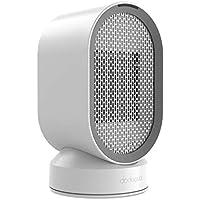 dodocool Mini Calefactor Eléctrico, Portatil Calefactor Ventilador ceramico, Calefactor Aire Frio y Caliente Oscilación