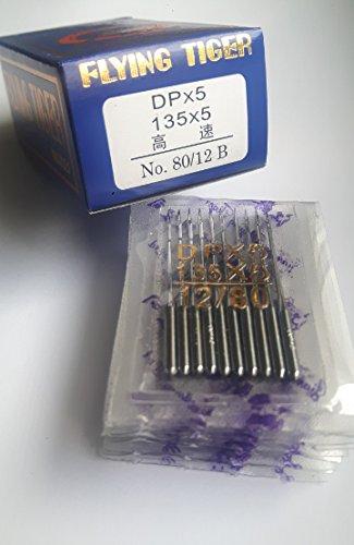 Industrie-nähmaschine (100 Nähmaschinen Nadeln Industrie Rundkolben DPx5 Nadelsystem 134 (Stärke 70))