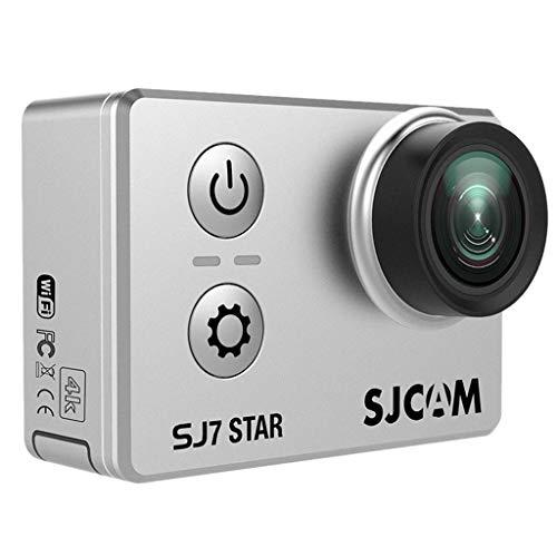 P Prettyia Für SJCAM SJ7 Star Actionkamera 16MP Touchscreen Sensor WiFi Wasserdicht Kamera w/Ferbedienung Funktion mit Zubehör Kit