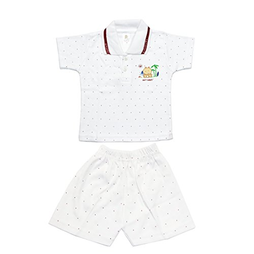 Kid's Care Night wear - baba suit - Shorts Tshirt Casual wear Combo Set or Kids /Baby Boys  -Cotton Material - Half Sleeve - Branded Summer Kids Wear - Half Pant and tshirt  available at amazon for Rs.275