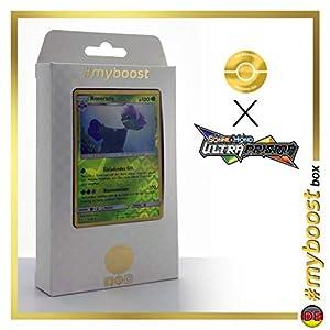 Roserade 5/156 Holo Reverse - #myboost X Sonne & Mond 5 Ultra-Prisma - Box de 10 Cartas Pokémon Aleman
