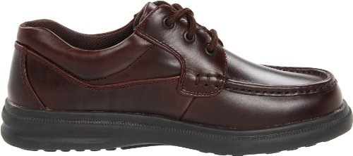 Hush Puppies Mens Gus Oxford Dark Brown