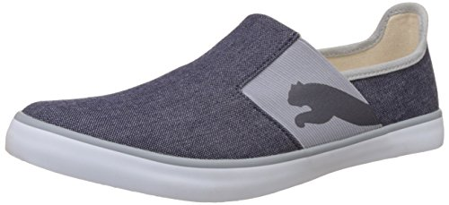 7. Puma Unisex Lazy Slip On II Dp Peacoat and Quarry Sneakers