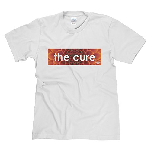 Rock is Relgion The Cure Classic Rock Musik Legends Retro-T-Shirt Weiß
