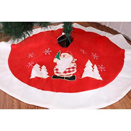 LASISZ Falda de árbol de Navidad Decoraciones navideñas para el ...