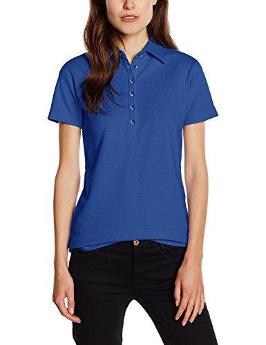 BlueBlack Damen Bioactive Poloshirt Ella - antibakteriell und geruchshemmend, Gr. 36 (Herstellergröße: S), Blau (dunkelblau 19) - Resistent S/s Shirt
