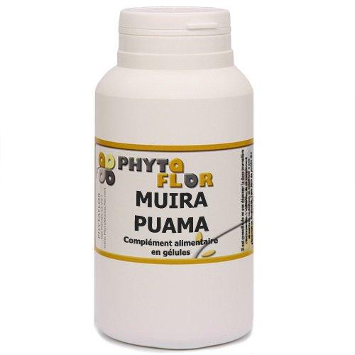 Muira Puama Phytaflor 250 mg en gélules - . : 1 boite de 150 gélules