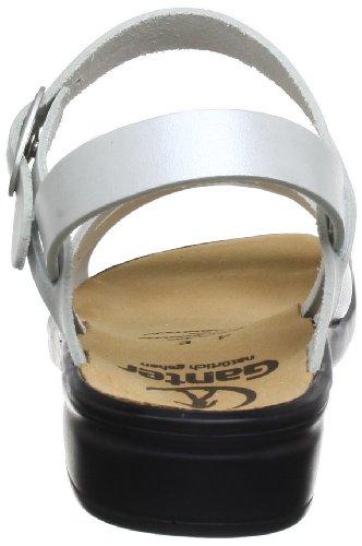 Ganter 5-202810-04760, Sandales femme Blanc (Offwhite/Silver 0476)