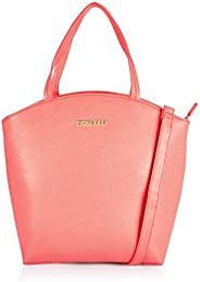 Caprese Birdie Satchel Medium Coral