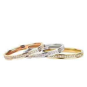 Ardeo Aurum Damenring 585 Gold 0,27 ct Diamant