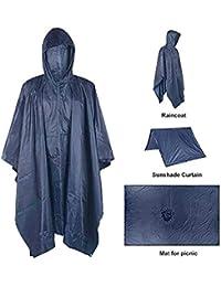 unisex Kinder Regenponcho// Regenmantel Weiß Regencape Regenumhang