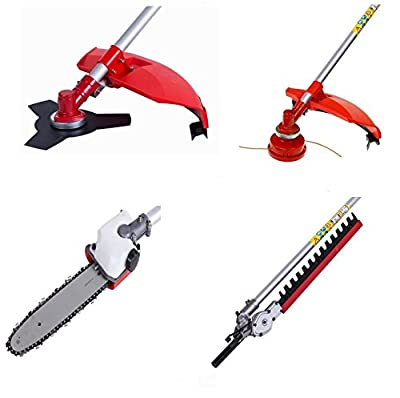 BU-KO 2018 52cc Long Reach Petrol Multi Functional Garden Tool