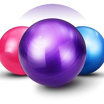 Good Times Gymnastikball, anti burst, Yogaball, Pilatesball, Fitnessball, Sitzball mit Pumpe, rutschfest, berstsicher von Good Times