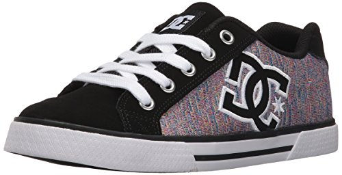 DC Shoes CHELSEA SE WOMENS SHOE D0302252, Sneaker, Donna Black Multi