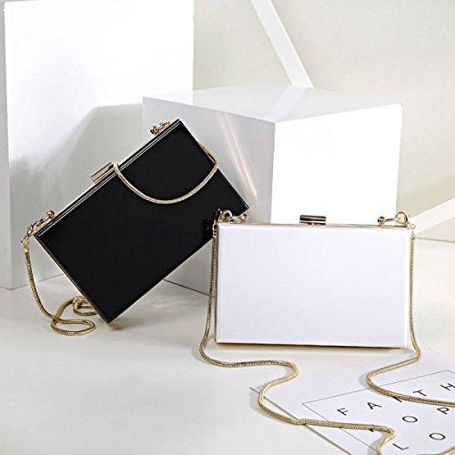 2b7716f14d088 GSHGA Neue Acryl Abendtasche Handtasche Fashion Clutch Bag Umhängetasche  Diagonal Chain Bag