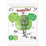 Manzana deshidratada crujiente - Pack 18 x 15g - Sin azúcar añadido, sin gluten, sin aditivos y sin freír. 100% Natural. Ideal para aperitivos, dietas y veganos