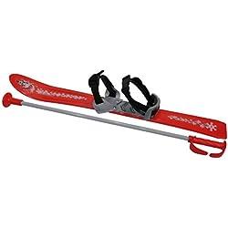 FRENDO Baby Panoplie de Ski Mixte Enfant, Rouge, 70 cm