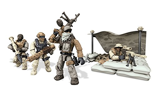 Call of Duty Mega Bloks Collector Construction Set of 4 - Desert Squad (Cng78) -